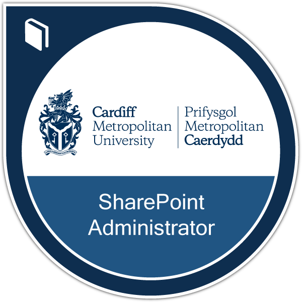 SharePoint Administrator badge