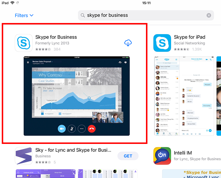 Join a Skype for Business Meeting